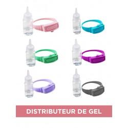 Bracelet distributeur de gel