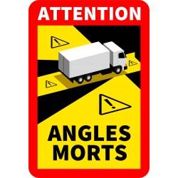 Adhésif angles morts camions