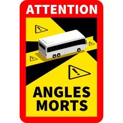 Adhésif angles morts cars