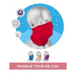 MASQUE TOUR DE COU MICROFIBRE